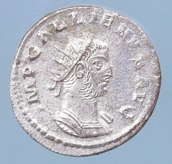 cópia de Gallienus (253-268 AD). BI Antoninianus (22 mm, 4,24 g)