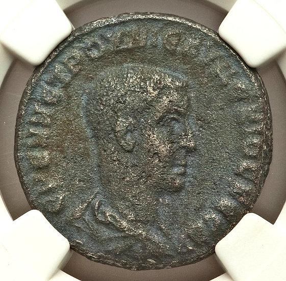 Moeda Provincial Tetradracma Herennius Etruscus