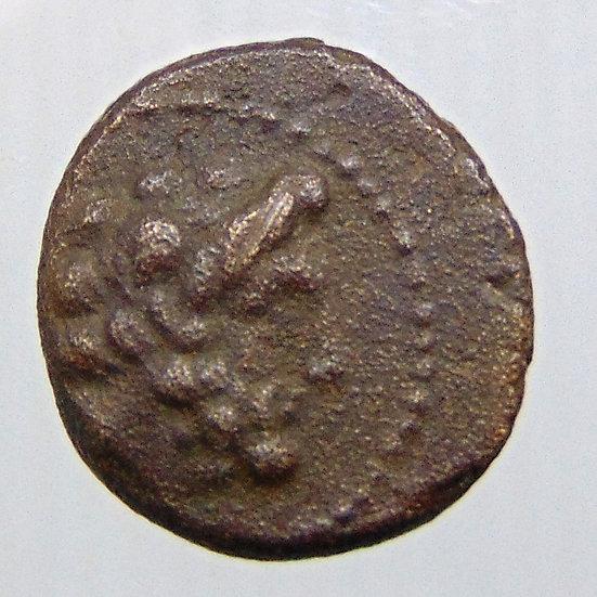 Moeda Fenícia de Arados (século II aC). Ae.