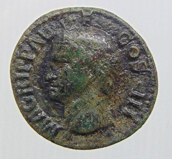 Moeda Romana de Agrippa (Caligula, 37-41)