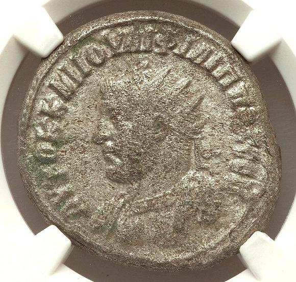 Moeda Provincial Tetradracma Prata de Philip I