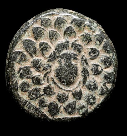Moeda Grega de Pontos Amisos (105-85 aC).
