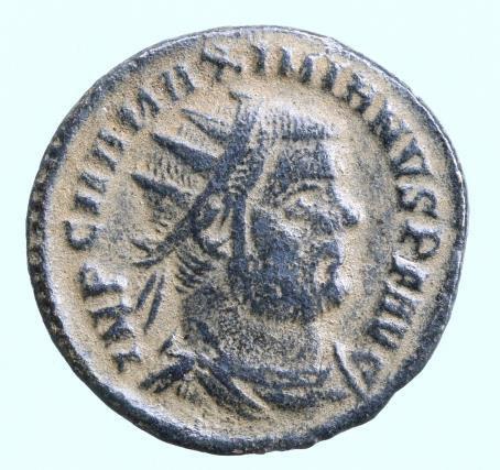 Moeda Romana Maximianus Herculius AD 286-305. Cyzicus