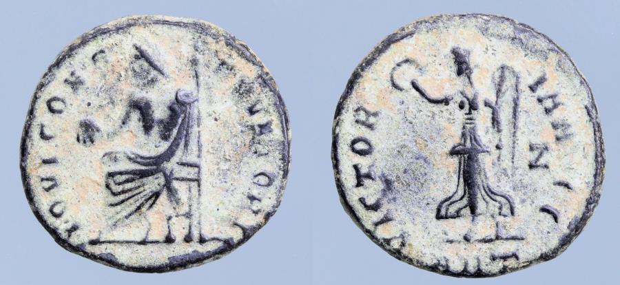 Moeda Romana:Temp. Maximinus II. AD 310-313 Persecution issue