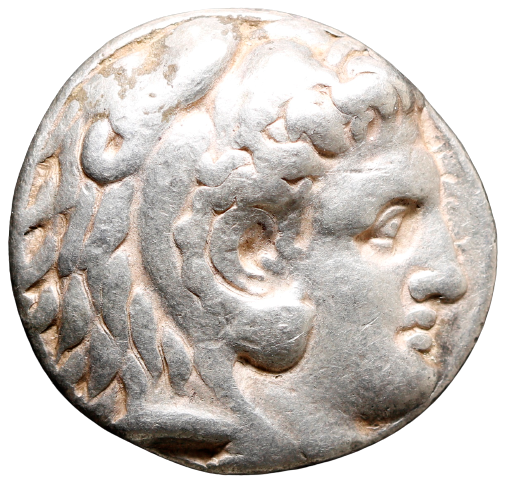 Moeda Grega Tetradracma de Alexandre III (Alexandre O Grande) (336-323 aC.)