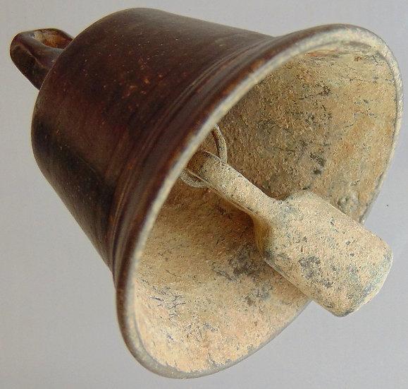 Sino Bizantino de Bronze com linda pátina - cerca de 1000-1200 dC