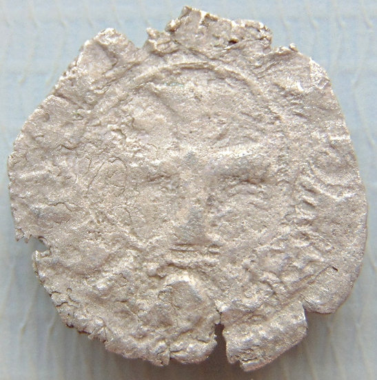 Moeda de Prata - Tornesello da República de Veneza Venier 1382-1400dC