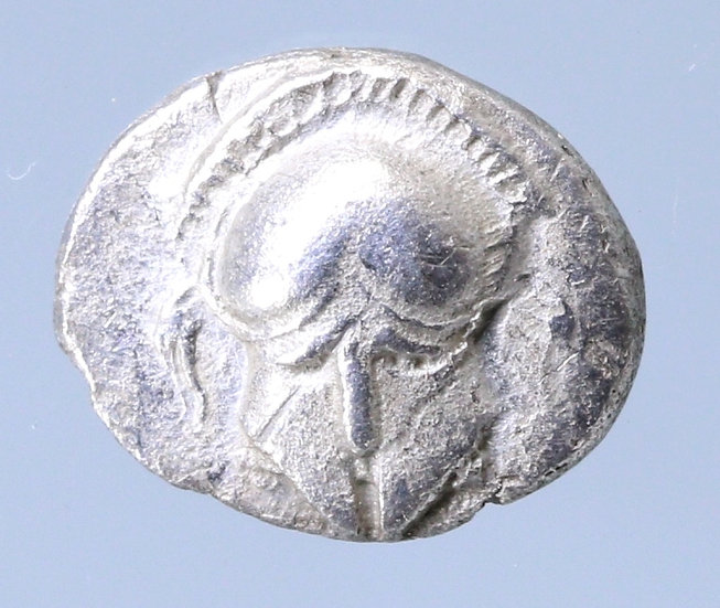Moeda Grega Diobol da Mesembria, 400-350 aC