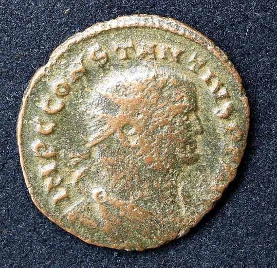 Moeda Romana de Constâncio Cloro 293-306dC