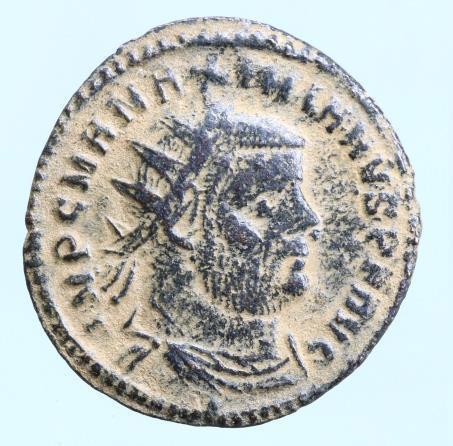 Moeda Romana Maximianus Herculius AD 286-305. Cyzicus Follis