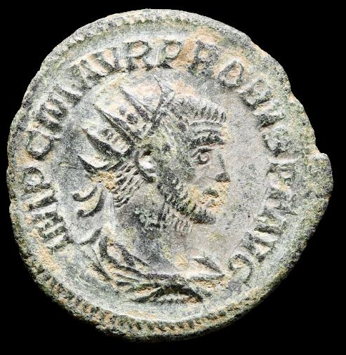 Moeda Romana Aureliano (tipo) de Probus (280 dC)