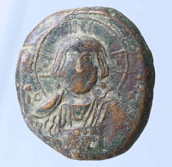 Moeda Bizantina FollisConstantino VIII (1025-1028)