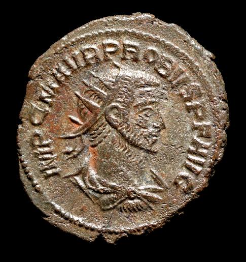 Moeda Romana Antoniniano de Probus (280-281 dC)