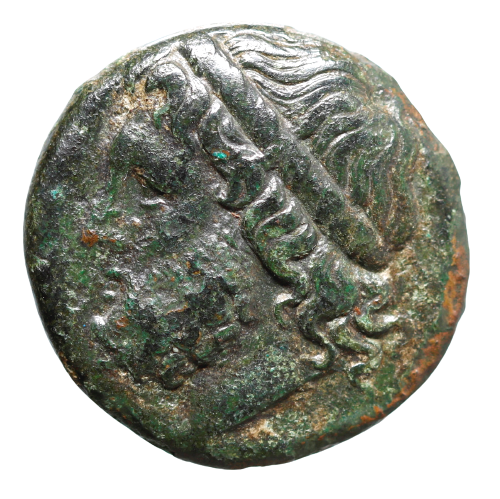 Moeda Grega da Sicília, Siracusa, de Hieron II (275-215 aC).
