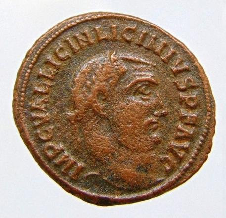 Licinius I. A.D. 308-324. Æ follis
