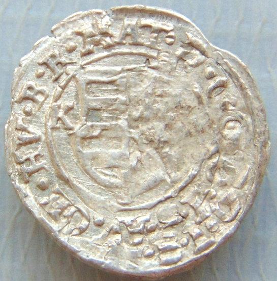 Moeda Denário Mathias II 1608-1619