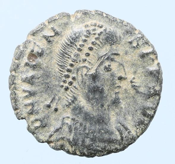 Moeda Romana de Valens (364-378).