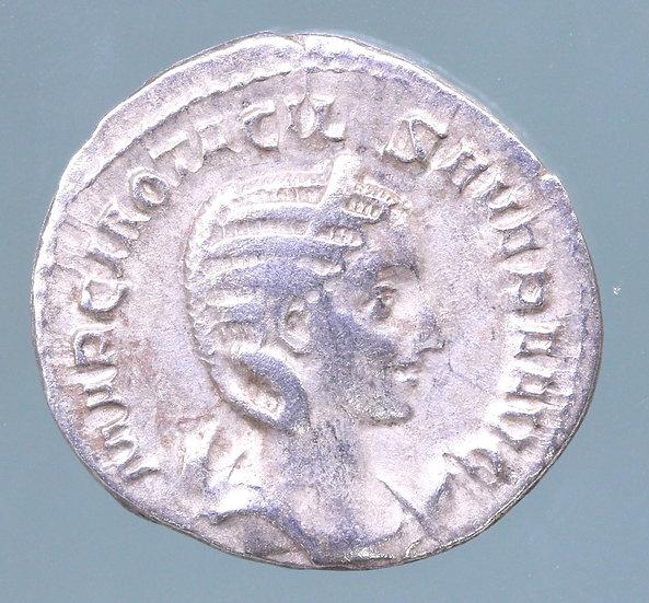 Moeda Romana Antoniniano  de Herennia Etruscilla (249-251 dC)