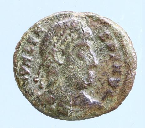 Moeda romana de Valens 364-367 dC