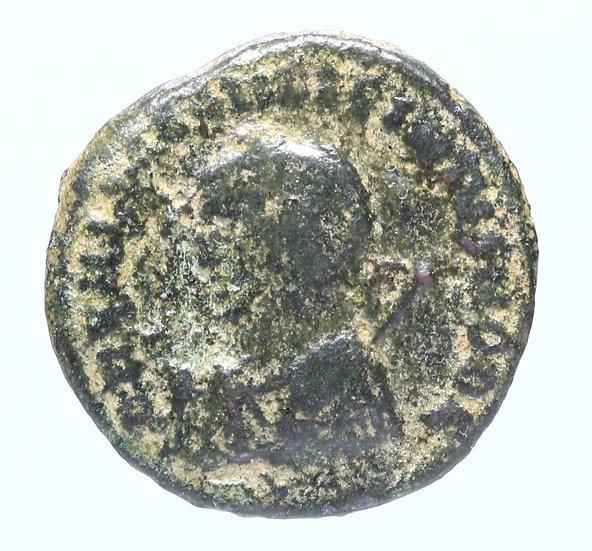 Moeda Romana de Licinius II (317-324 dC) - tipo escasso.