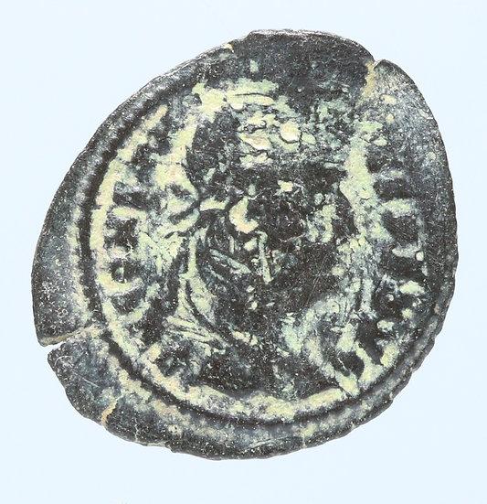 Moeda Romana de Constantius II 337-340 dC