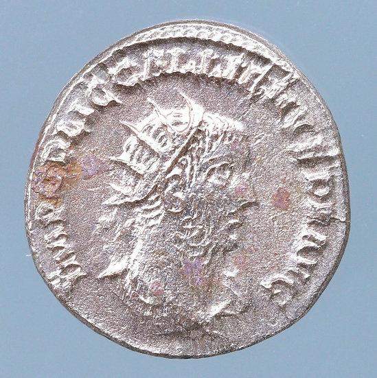 Gallienus AR Antoninianus. Samosata, AD 260.
