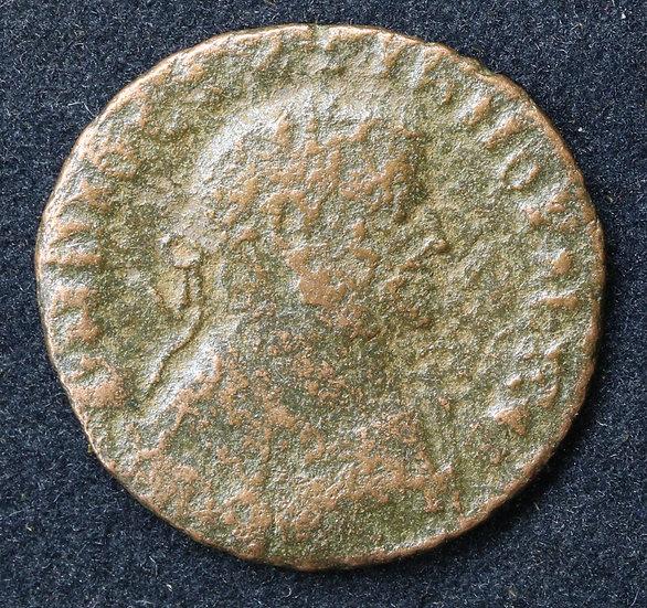 Moeda romana de Diocleciano 308-310 dC