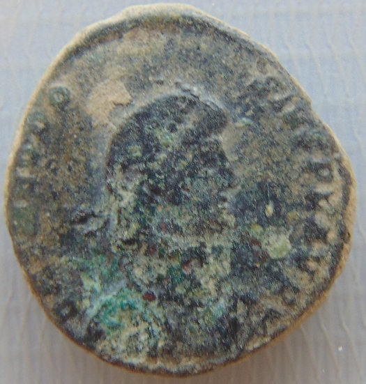 Moeda Romana Antiga Theodosivs - 392-395 DC