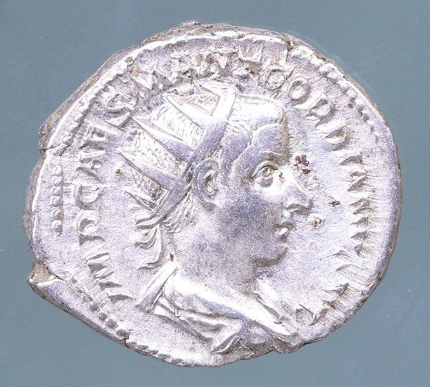 Moeda Romana Escassa Antoniniano de Gordian III