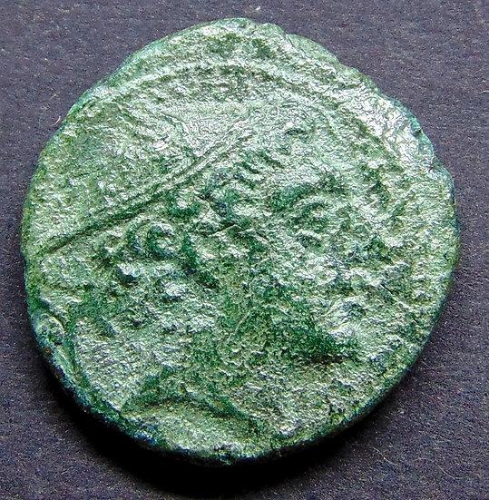 Moeda República Roma Anônima 215-212 aC