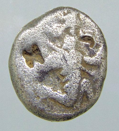 Moeda siglos de prata Império Aquemênida 420-375 aC