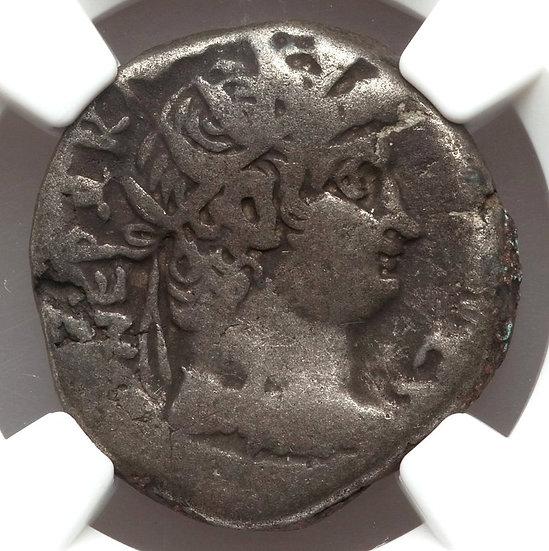 Moeda Provincial Romana de Nero 54-68 RARA (6 conhecidas)