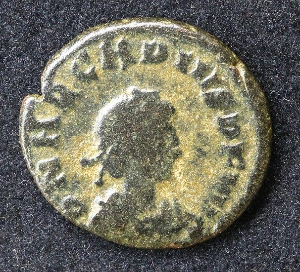 Moeda Romana de Arcádio (383-408)