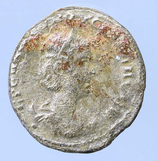 Moeda Provincial Tetradracma de Herennia Etruscilla- Rara: 3º Exemplar conhecido