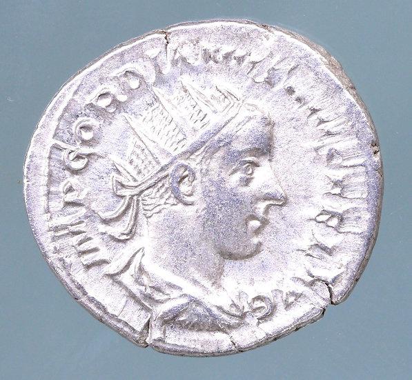 Moeda Romana Antoniniano de Gordian III