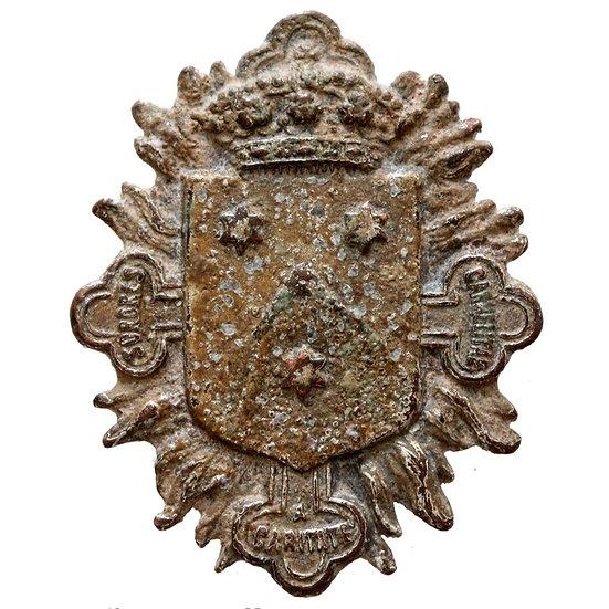Broche Militar Espanhol - Cerca de 1800-1850 dC