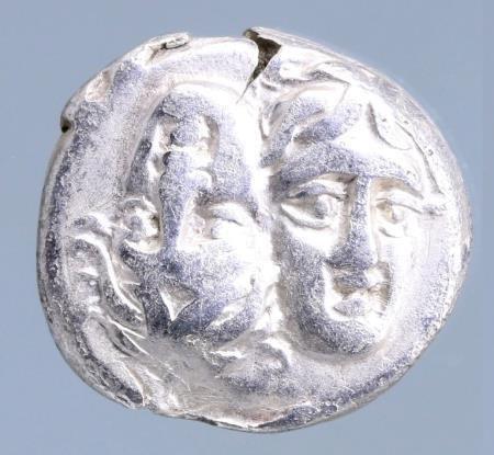 Moeda Grega ISTROS. Moesia. 4th Century B.C.