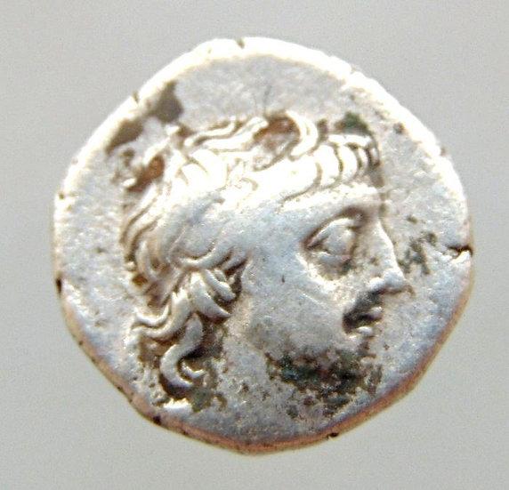 Moeda grega CAPPADOCIA Ariobarzanes III Eusebes Philoromaios 54-42 aC