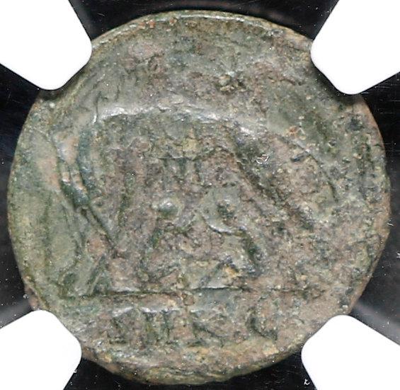 Moeda Romana de Constantino I, o Grande (306-336 dC).