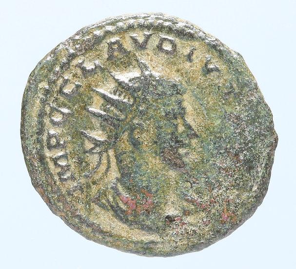 Moeda Romana de Claudius Gothicus (268-270 dC)