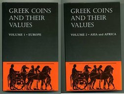 Greek Coins and their Values - Obra Completa 2 Volumes!