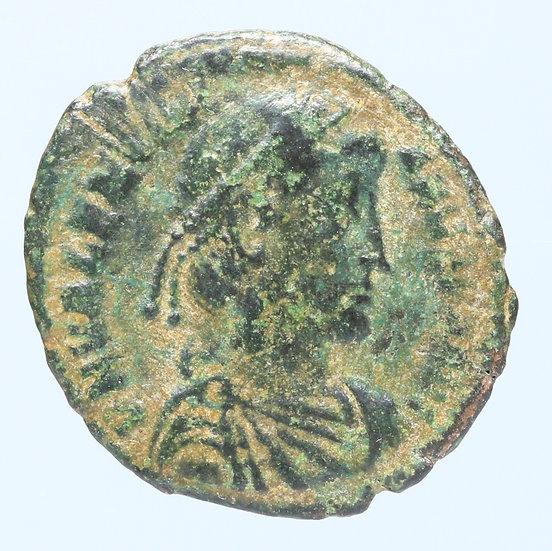 Moeda Romana de Valentiniano I (364-365 dC)