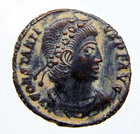 Constantius II AE3. 330-341 AD Siscia