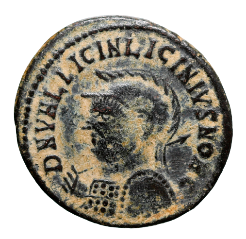 Moeda Romana Escassa de Licinius II, como César (318-320 dC).