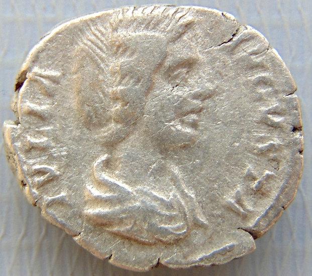 Moeda Romana Denário de Iulia Domna - Venus