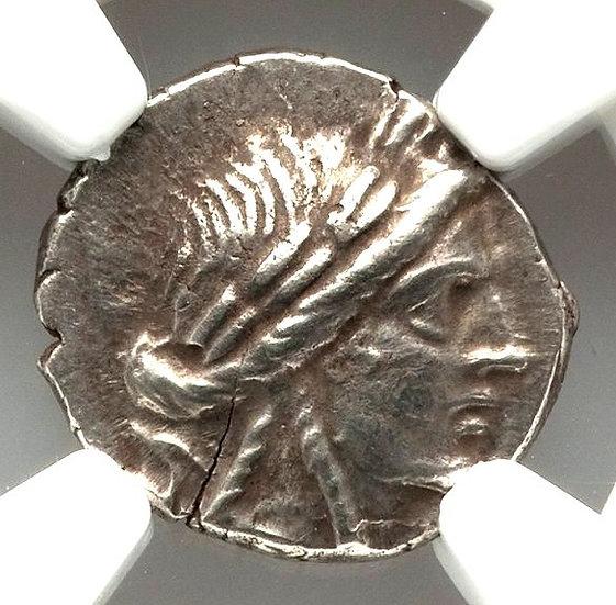Moeda Grega Escassa da Liga da Lícia, Phaselis (167-81 AC)