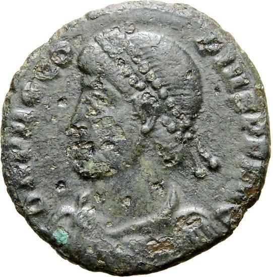 Moeda RARA de Procopius. Constantinopla (364-367 dC).