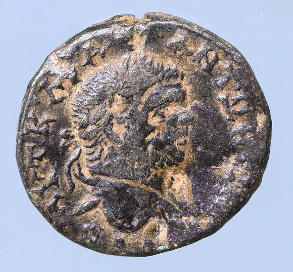Caracalla AR Tetradracma de Antioquia, Síria. 214/5 dC