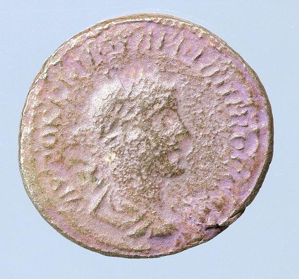 Felipe O Árabe Tetradracma de Antioquia, Síria. 214/5 dC