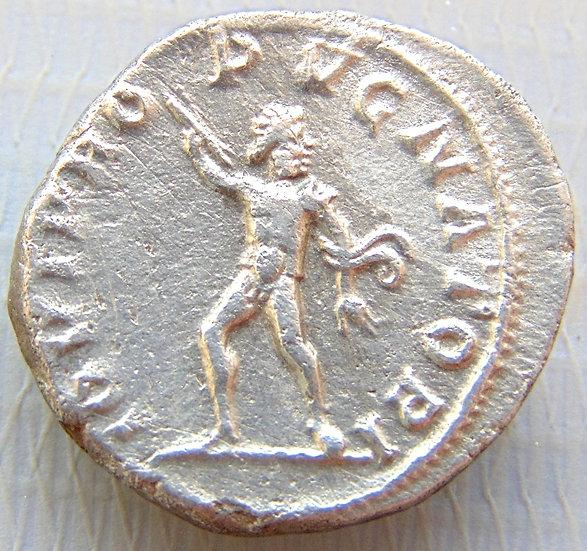 Moeda Romana Denário de Severus Alexander 232dC